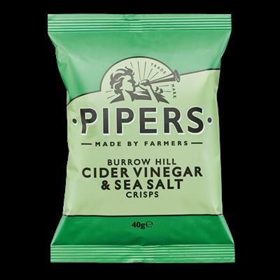 Pipers Chips Vinaigre 40 gr