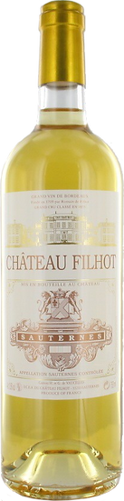 Château Filhot 2010 Sauternes GCC 75 cl