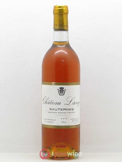 Château Lange Sauternes 1976 73 cl