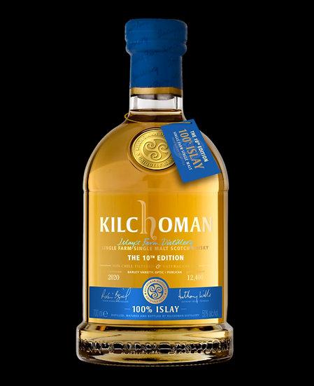 kilchoman 100% Islay 10th Edition 70 cl