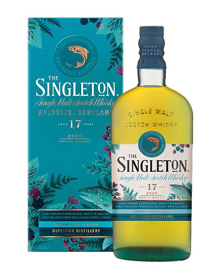 Singleton 17 ans Special Release 2020 70 cl