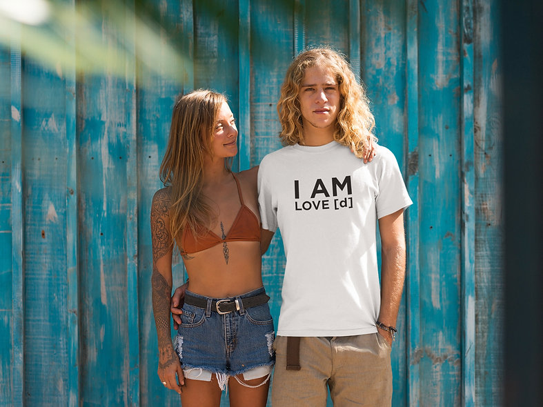 I AM LOVE [d] ECO-CONSCIOUS UNI-SEX TEE