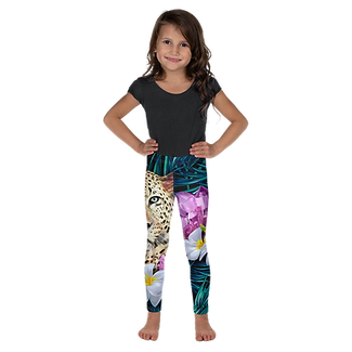 AMETHYST JUNGLE KIDS LEGGINGS