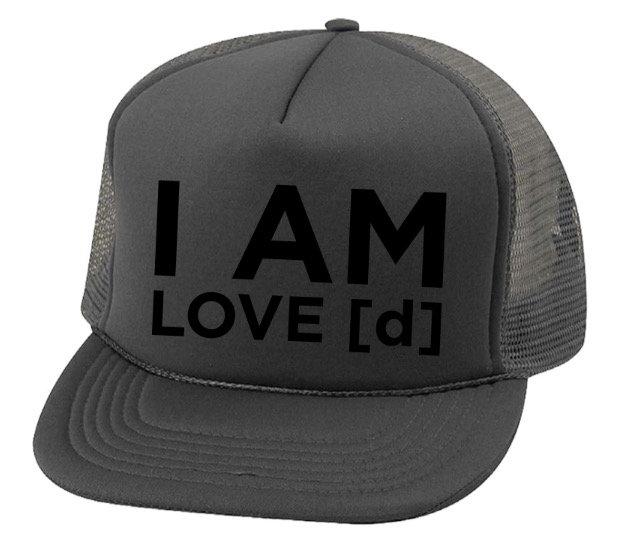 I AM LOVE [d] UNI-SEX HAT