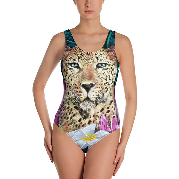 Amethyst Jungle I AM LOVE [d] Swimsuit