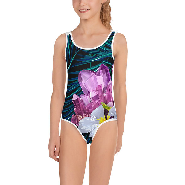 AMETHYST JUNGLE KID'S SWIMSUIT