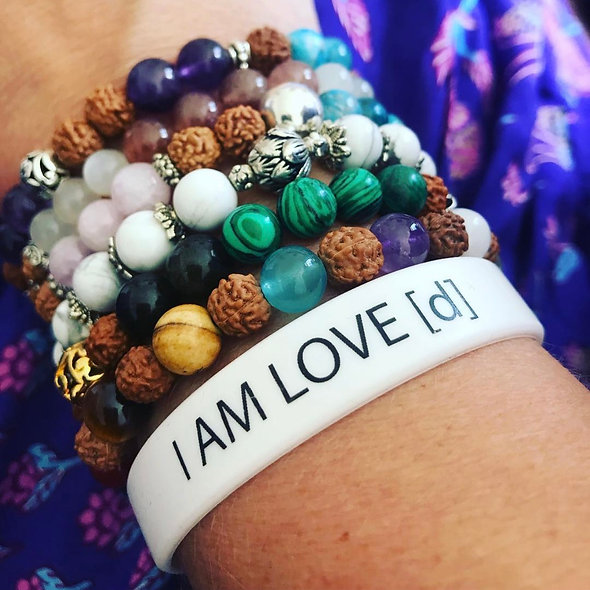 I AM LOVE [d] WRISTBAND