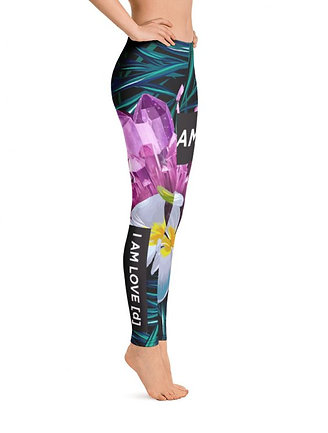 AMETHYST JUNGLE LADIES LEGGINGS