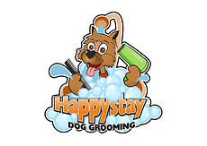 Happystay Dog Grooming logo
