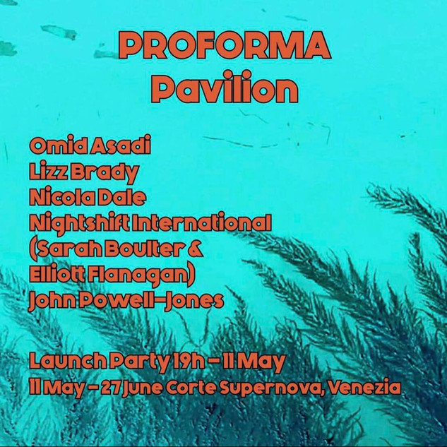 PROFORMA Pavilion, exhibition text