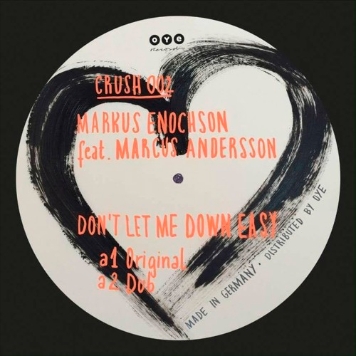 """Don't Let Me Down Easy"" by Markus Enochson - Lay-Far Dub Remix"
