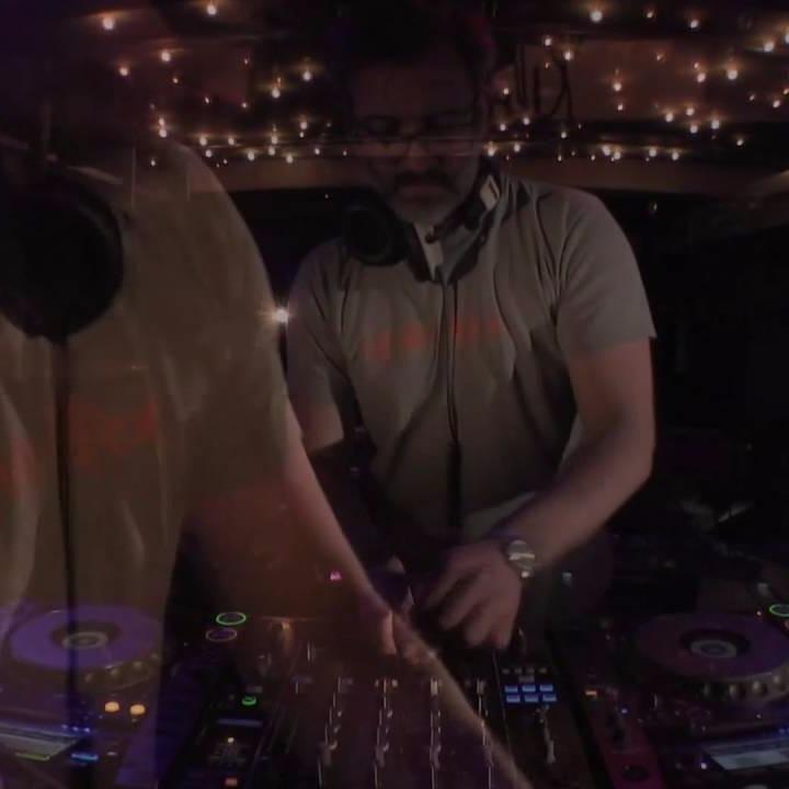 Jazzanova DJ Alex Barck live, Boiler Room Berlin