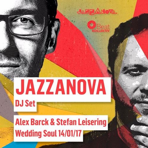 Jazzanova DJs at Wedding Soul live in the mix