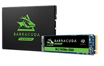 Seagate Barracuda SATA and MVMe