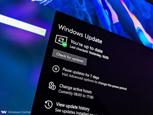 The New Windows 10 Update 19H2