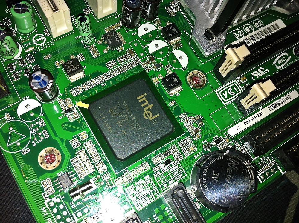 Intel Chipset on Motherboard