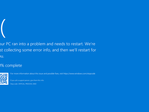Another Buggy Update from Windows
