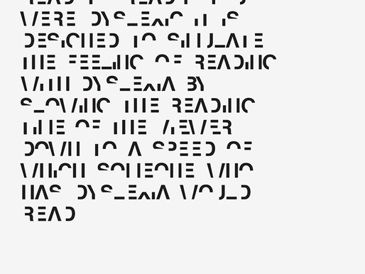 Legible Fonts for the Win!
