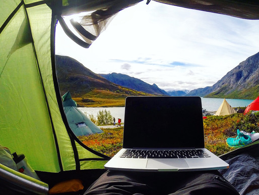 Summering with Your Laptop