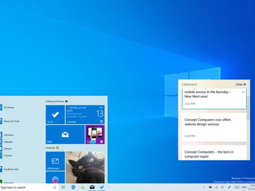 The Windows 10 Clipboard History Trick