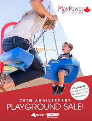 Celebrate PlayPower Canada's 70th and Canada 150th with amazing deals!