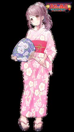 【花園 浴衣】
