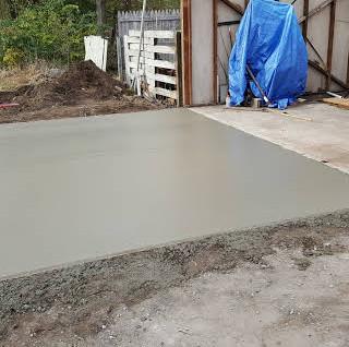 Concrete, Garages