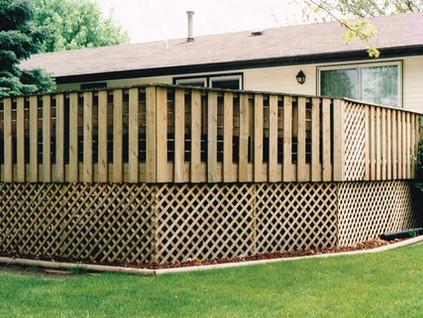 Decks, Fences