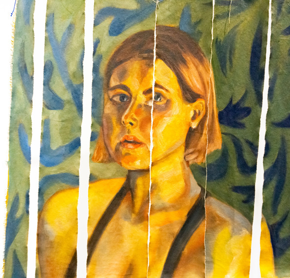 Untitled Ribbon Piece 1