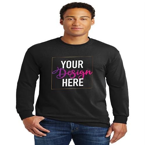 Custom Long Sleeve T-Shirt (Front Design)