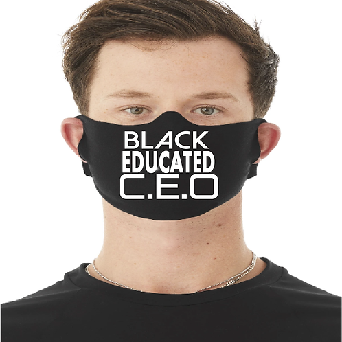 Black Educated CEO Face Mask