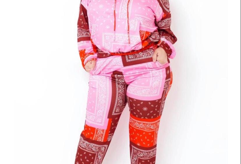 Women's Two piece sweat suit