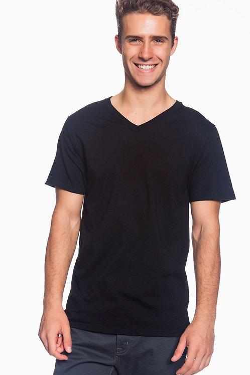 Men V-NeckT-Shirt (Front Design)
