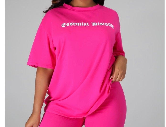 Essential Pink Two Piece Set