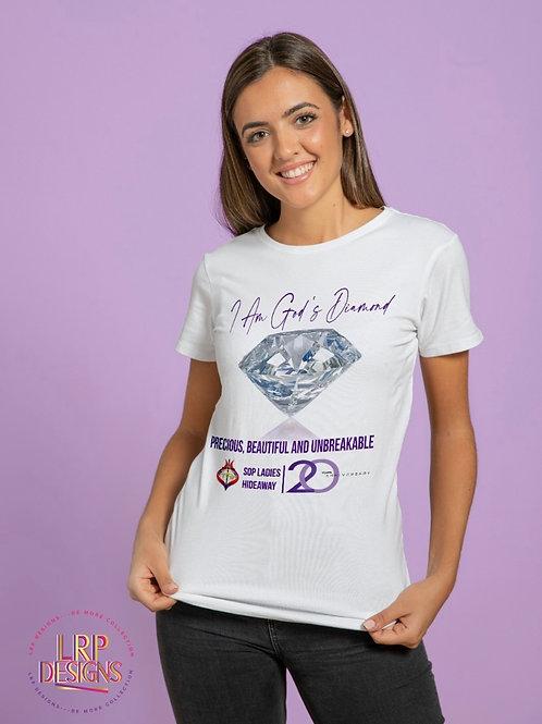 I am God's Diamond T-shirt