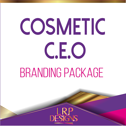 Cosmetic  C.E.O Branding Package