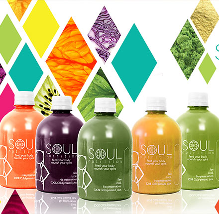 Soul Nutrition branding