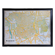 """Timothy Oulton """"Madrid"""" Map"""