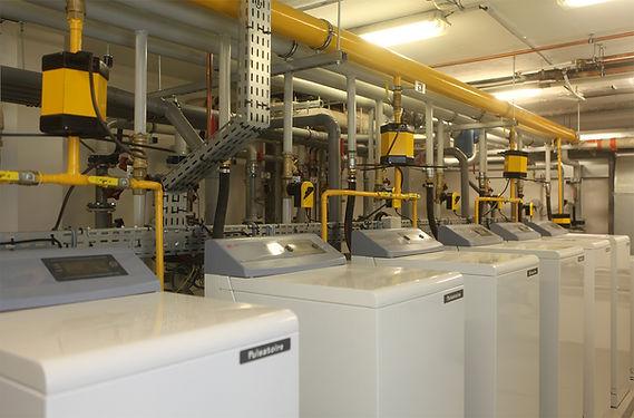 applications d'efficacité énergétique et optimisation de combustion