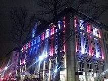 éclairage de facade à LED