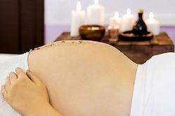 schwangerschafts-massage