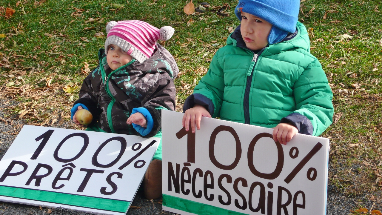 Une planète viable pour nos enfants