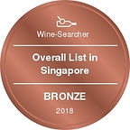 Overall List in Singapore-Bronze-W-2018-