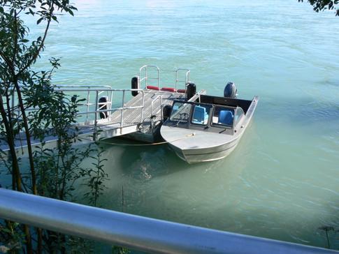 Kenai River dock