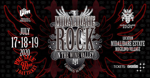 Midalidare Rock in the Wine Valley 2020.