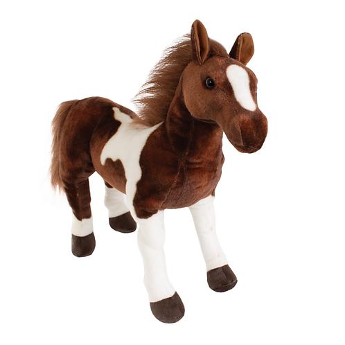 Apaloosa Horse-White/Brown