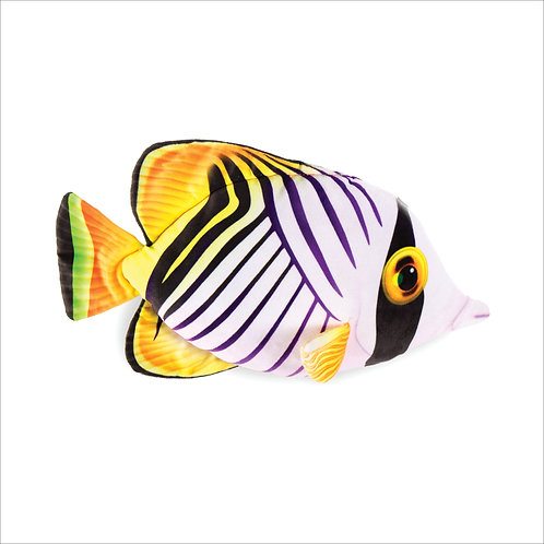 Butterfly Fish-White