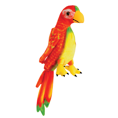 Parrot-Red