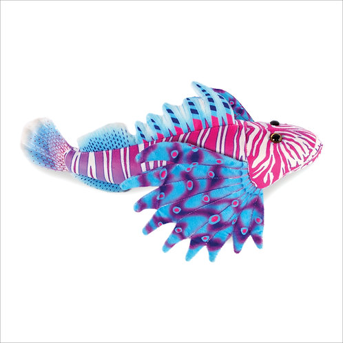 Lion Fish-Purple