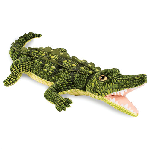 Open Mouth Crocodile-Green